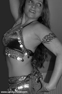 Sandy Cristel Belly Dance