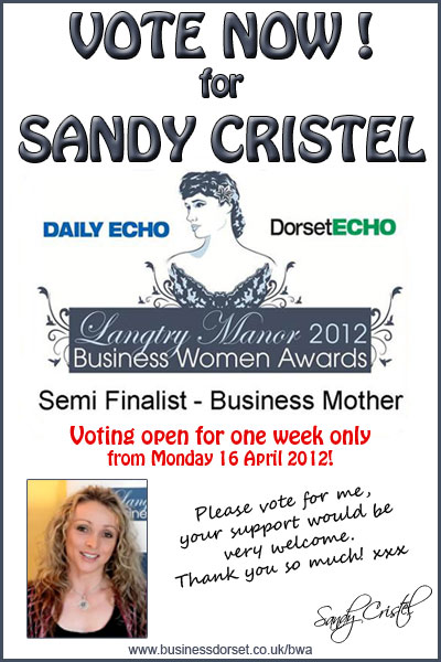 VOTE FOR SANDY CRISTEL